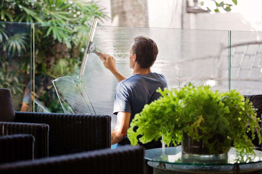 fönsterputsning